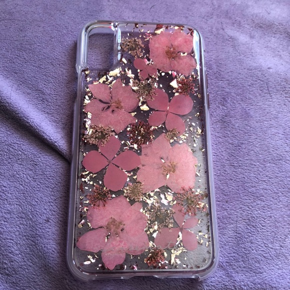 new style 74993 f3478 iPhone X Case-Mate Karat Petals Case